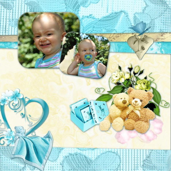 Mes pages CT Floralys scrap 624559KitAgetendre6x6