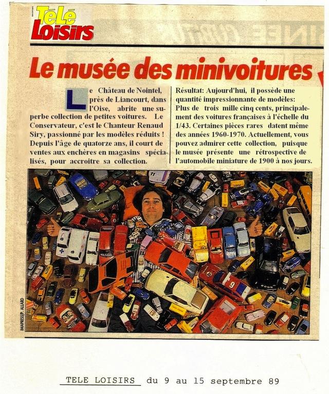 Les miniatures automobiles ont la vie de château 626209LesDSUndestrsnombreuxarticlesdePressesurRenaudSIRYetsonMusedelAutoMiniature