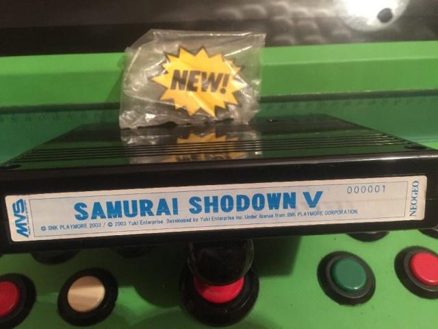 Samurai Shodown 5 avec Serial 000001, Fake ou pas Fake ? 626432SS5