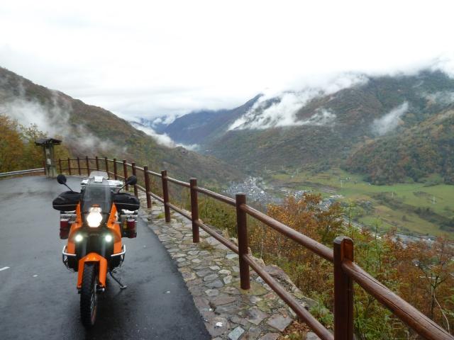 Road Trip automnal dans les Pyrénées en 990 Adventure : partie 2 -St Lary Soulan (65) 627266P1430266