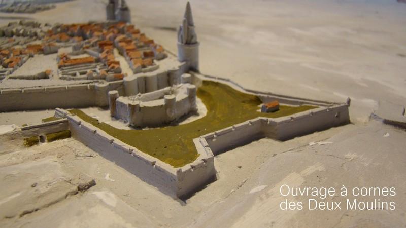 // La Rochelle 1628 // Le plan-relief // 627901deuxmoulinspetite