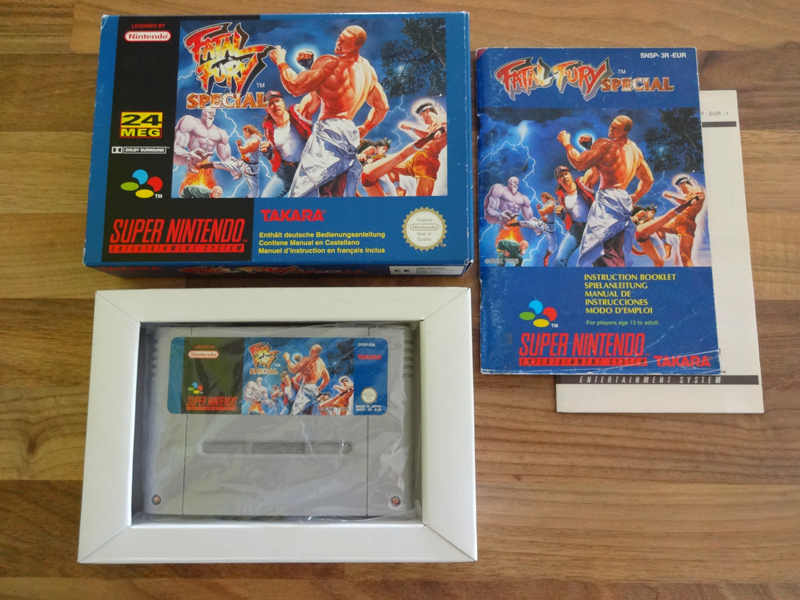 Prupru's Collection ! 100% Super Nintendo et 200% Super Comboy !! - Page 18 628055FatalFurySpecialEUR