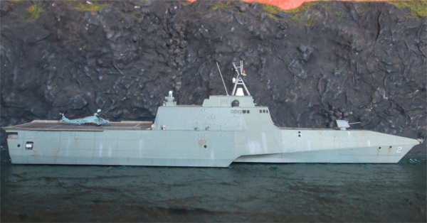 USS Independence (LCS-2)  1/700 628080IMG0521
