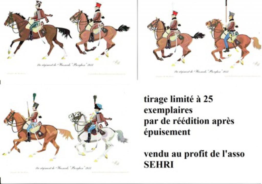les séries de cartes postales uniformologiques de la SEHRI 62858014eborghse