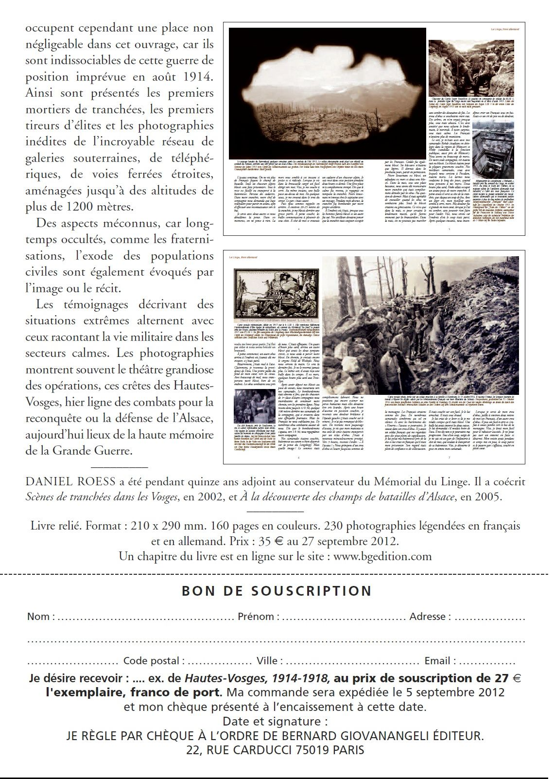 HAUTES-VOSGES 1914-1918 629689hautesvosges2
