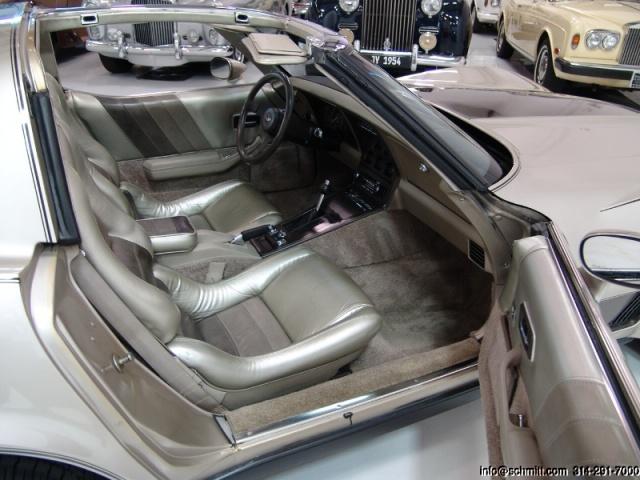chevrolet corvette 1982 edition collector monogram au 1/8 63008740489532
