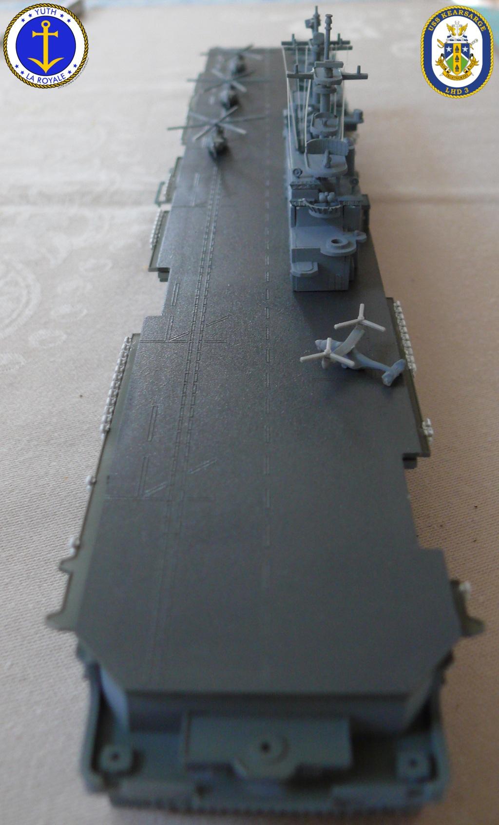 USS KEARSARGE LHD-3 1/700 REVELL 630183Kearsarge25