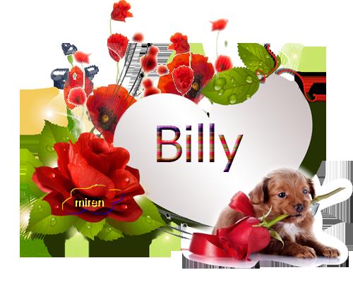Nombres con B 631632Billy