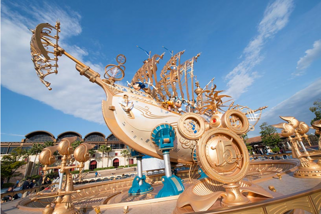 "[Tokyo DisneySea] 15th anniversary ""The Year of Wishes"" (du 15 avril 2016 au 17 mars 2017) 631697w121"