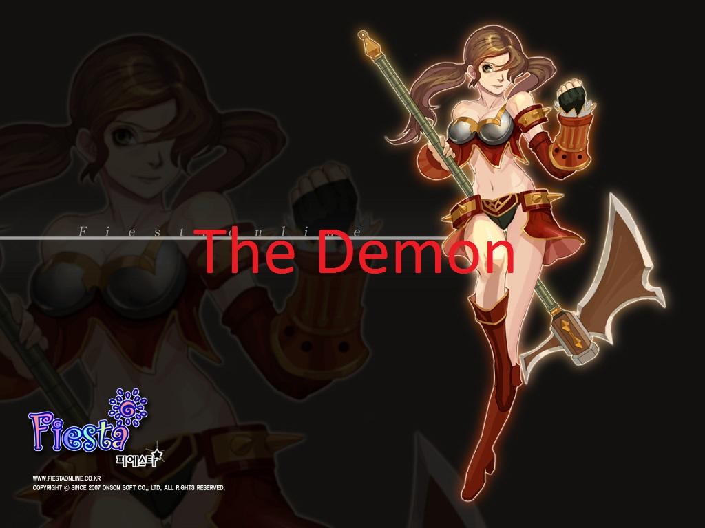 La guilde The Demon est sur le serveur cypian du jeu fiesta online.