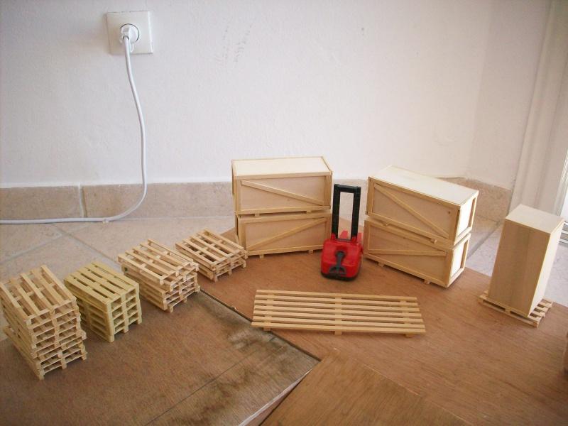 fabrication d'une caisse de transport pour le scania 6330241008916