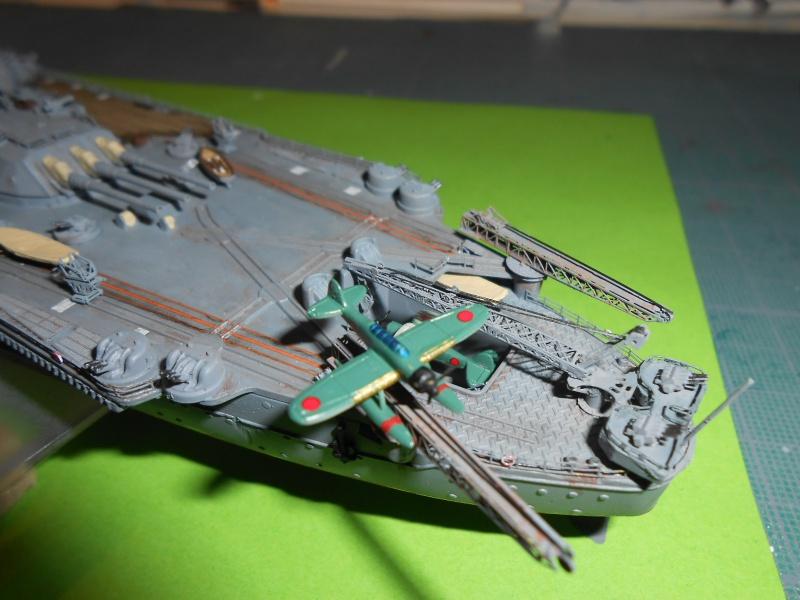 Yamato 1/700 fuji, PE,Pont en bois et babioles - Page 5 633842DSCN6319