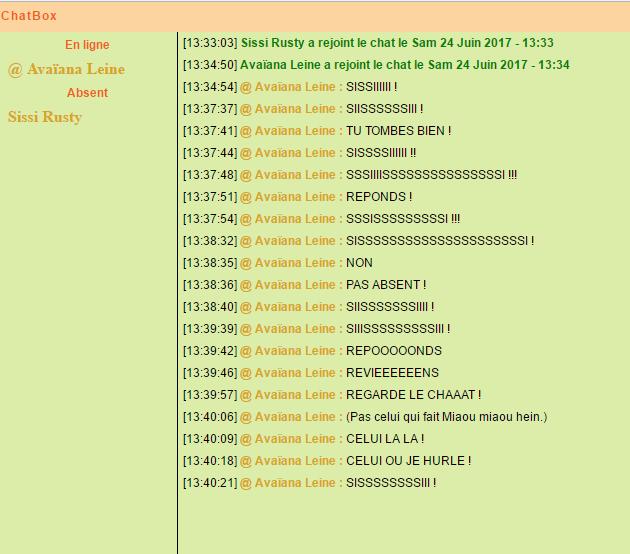 Les Perles de la ChatBox - Page 2 634504Lappeldesmorts