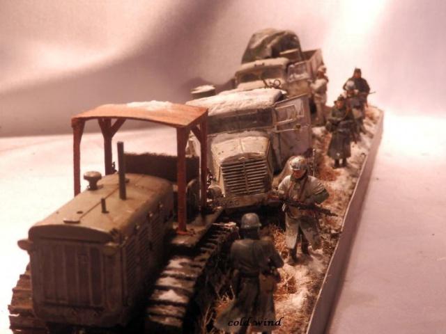 tracteur d artillerie soviétique chtz s-65 version allemande 1/35 trumpeter,tirant 2 blitz de la boue - Page 5 634836PA190062