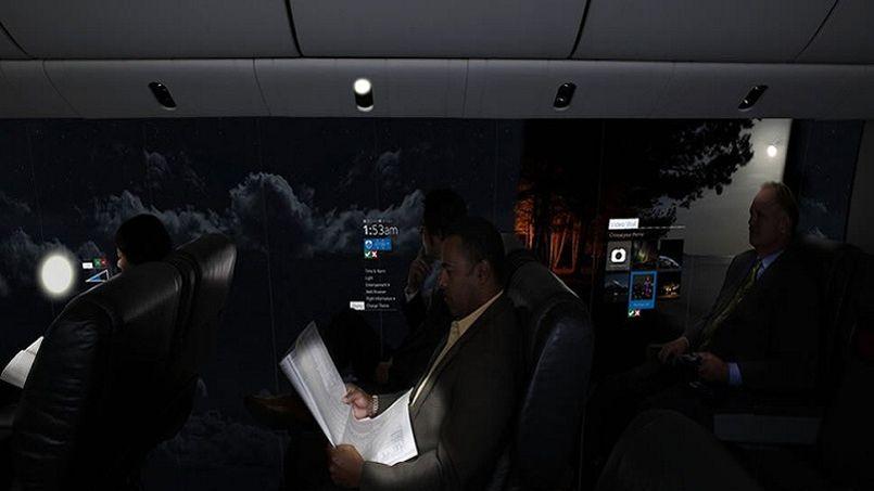 On pourra bientôt voler dans un avion transparent 635461PHO15800f2c5e8b11e48b751332e2e7019c805x453