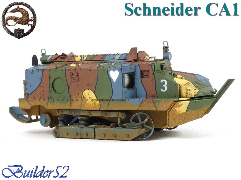 CHAR SCHNEIDER CA 1 - HOBBY BOSS 1/35 636089P1040957