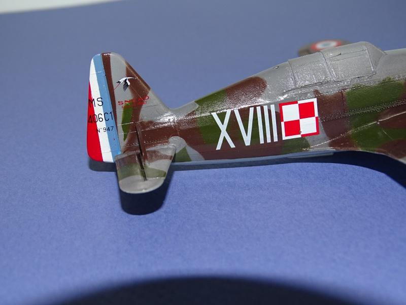 Morane Saulnier MS 406 GC I/2 Damblain Sgt Antoni Beda Avril 1940 640087DSC01742