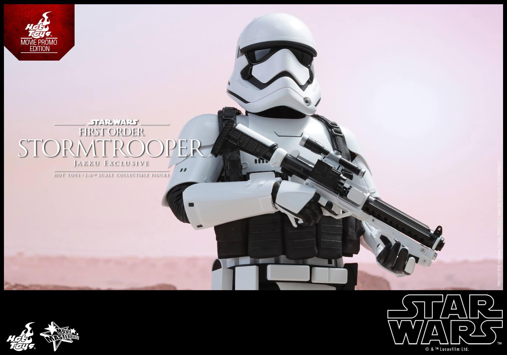 HOT TOYS - Star Wars: TFA - First Order Stormtrooper Jakku  640573106