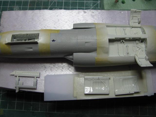 DUO: F-104N (NASA) + F-104G (BAF) Hazegawa 1/48  640869IMG2656