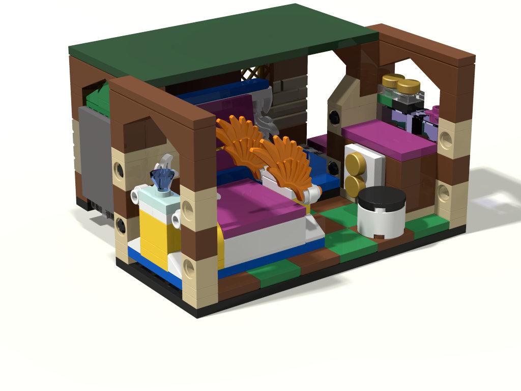 [MOC] Boîte de présentation Moi et mon dragon, en mini-maison de campagne 641210boite05maison01Bloc08