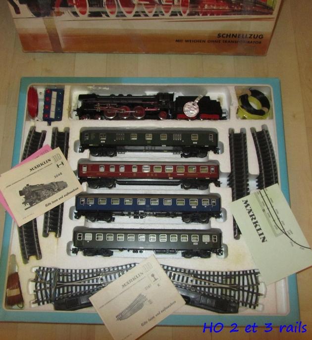 Coffrets Märklin 1936 - 1968 (rouges, noirs, verts ou bleus) 641543Marklincoffret318830482R