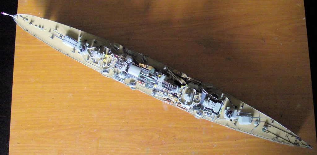 Prinz Eugen Trumpeter au 1x350 avec PE 641633PrinzEugen1x35068