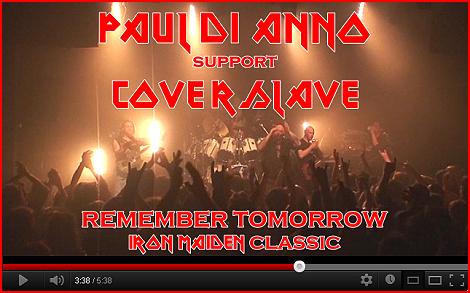 PAUL DI 'ANNO - TOURNEE D'ADIEU+COVERSLAVE  11/2013 642026VideoPaulDiAnnoCoverslaveremembertomorrow