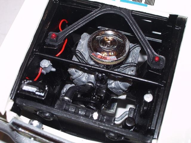 mustang shelby 350 GT 1965  kit monogram 1/24 . 642178IMGP3058
