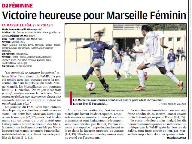 ● FA MARSEILLE FEMININ  - Page 6 642256942