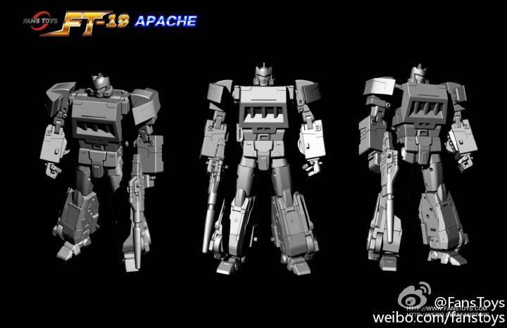 [Fanstoys] Produit Tiers - Jouet FT-19 Apache - aka Springer/Ricochet 643974FT193