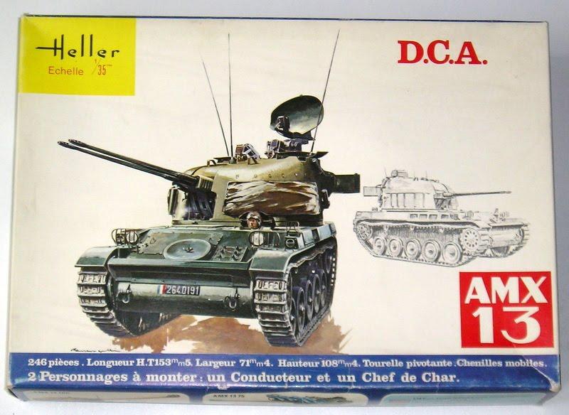 AMX 13 DCA - (Réf. L783) 1/35  644729AMX13DCA783001Heller135