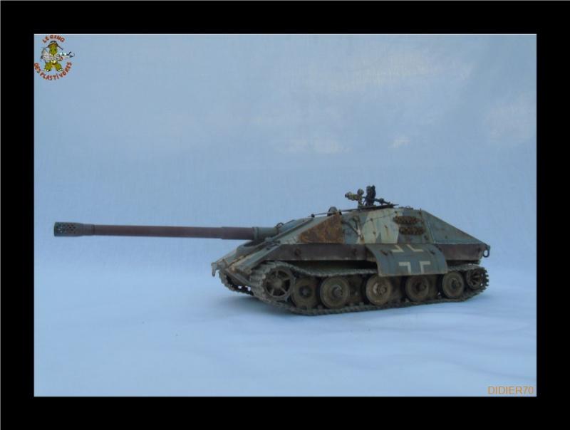 E-100 Jagdpanzer Krocodil 1/35 trumpeter 646016Sanstitre24GF