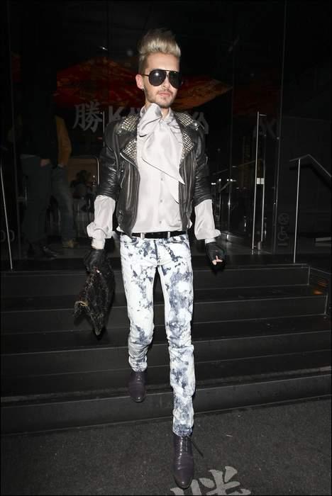 """[Net/Belgique/Février 2012](7sur7.be) - Bill Kaulitz de """"Tokio Hotel"""" est méconnaissable 64609563b2"""