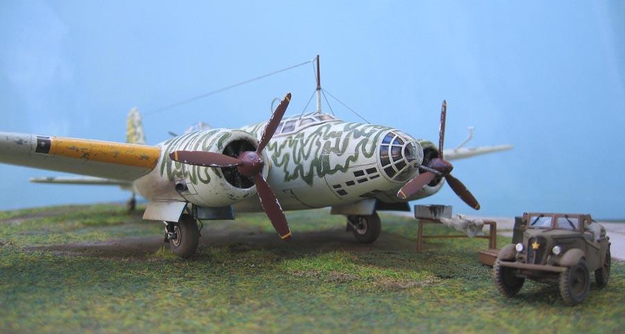 """[MPM] - Mitsubishi Ki 21 IIB """"Sally"""". 648000Ki21123"""