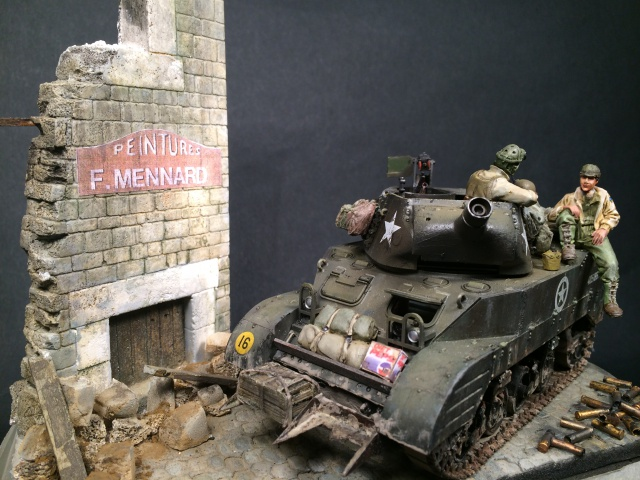 """Le laxatif"" - M8 Howitzer unité ""Hell on Wheels"" - 2nd Armored division, Normandie - Tamiya 1/35 648623IMG3484"