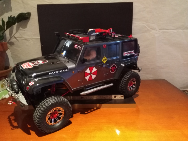 axial Scx10 - Jeep Umbrella Corp Fin du projet Jeep - Page 8 648781IMG20161229150756