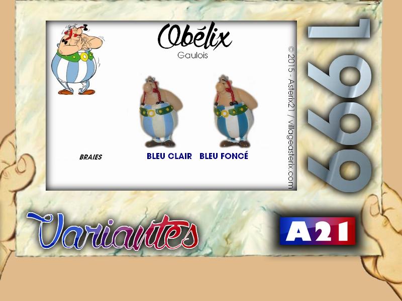 Astérix® les Variantes d'Hier et d'Aujourd'hui [Le Catalogue] 649371MarbreVariantesBridelix1999Oblix