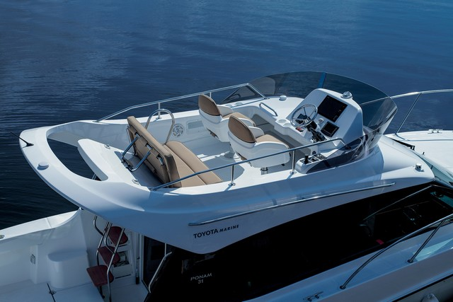 Toyota lance un nouveau bateau de plaisance, le Ponam-31 649781201410100104