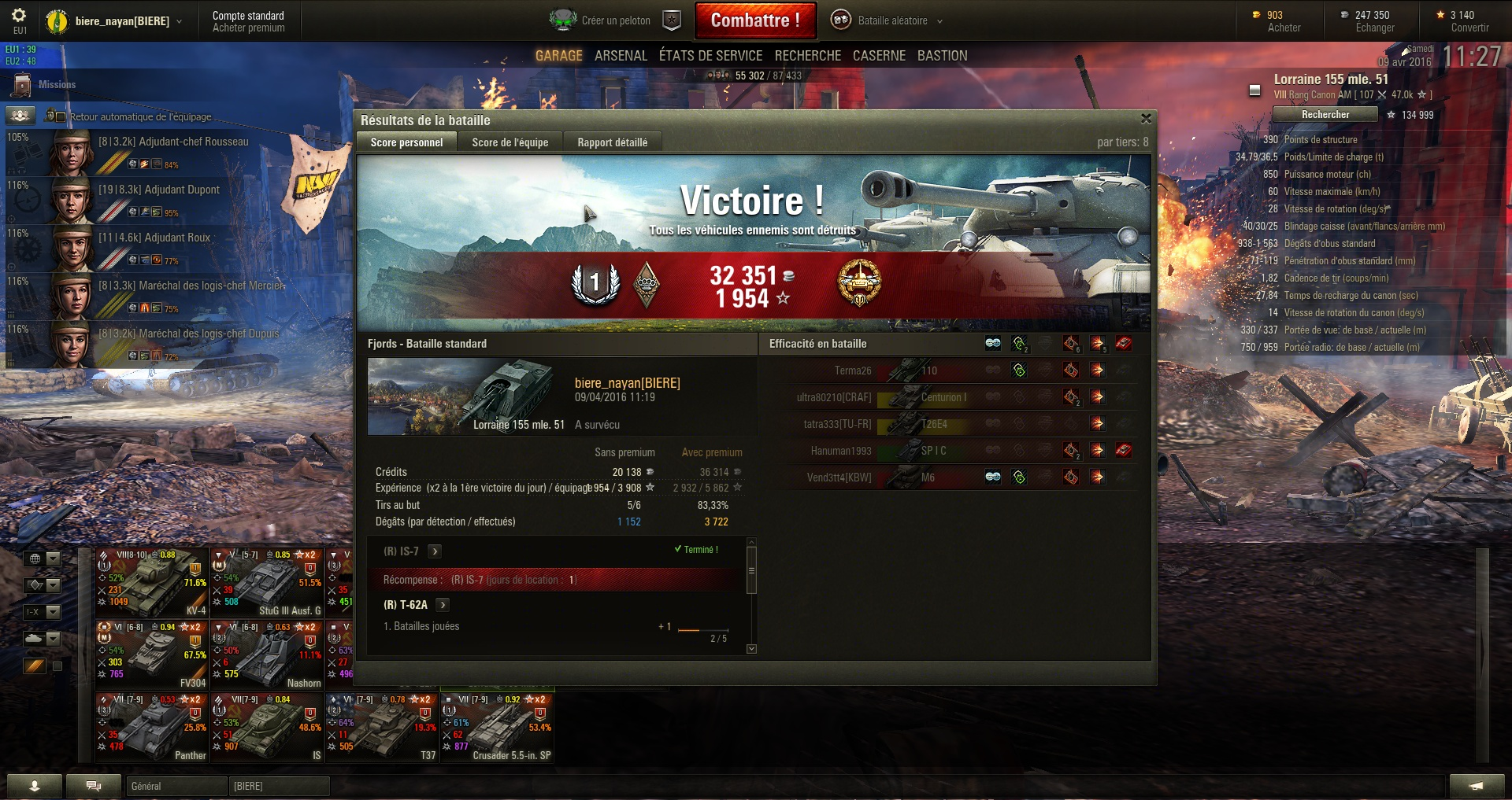 Screenshots et rapports de batailles - Page 3 650427shot018