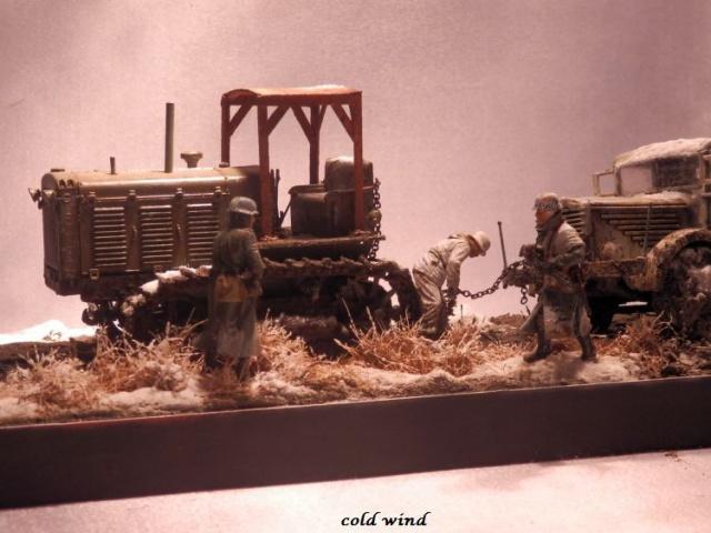 tracteur d artillerie soviétique chtz s-65 version allemande 1/35 trumpeter,tirant 2 blitz de la boue - Page 5 652098PA190040