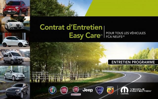 Mopar® lance son nouveau contrat d'entretien EASY CARE  652590BrochureVPEASYCARE2015FRHDPage1