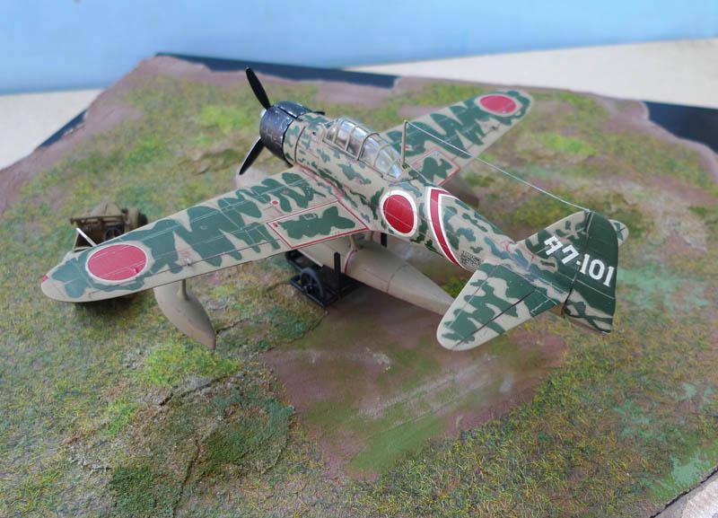 "[Hasegawa] - Nakajima A6M2 N ""Rufe"". 652769Rufe38"