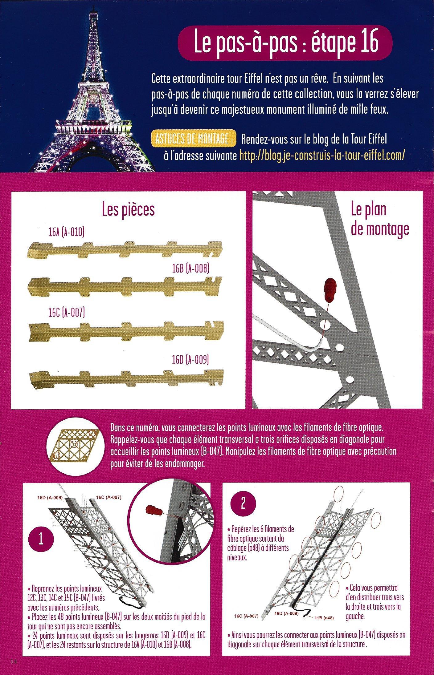 Numéro 16 - Je construis la Tour Eiffel - Tout le monde aime la Tour 65473116b