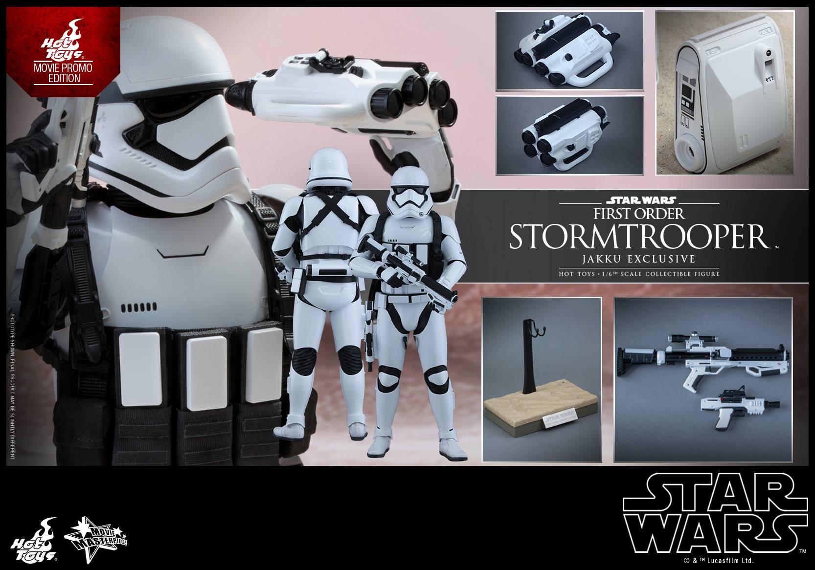 HOT TOYS - Star Wars: TFA - First Order Stormtrooper Jakku  655982113