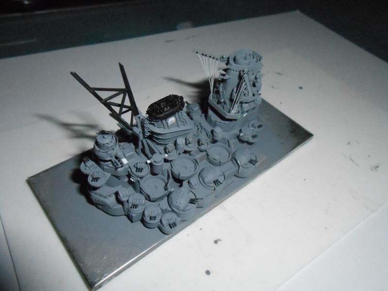 Yamato 1/700 fuji, PE,Pont en bois et babioles - Page 3 656631DSCN5436