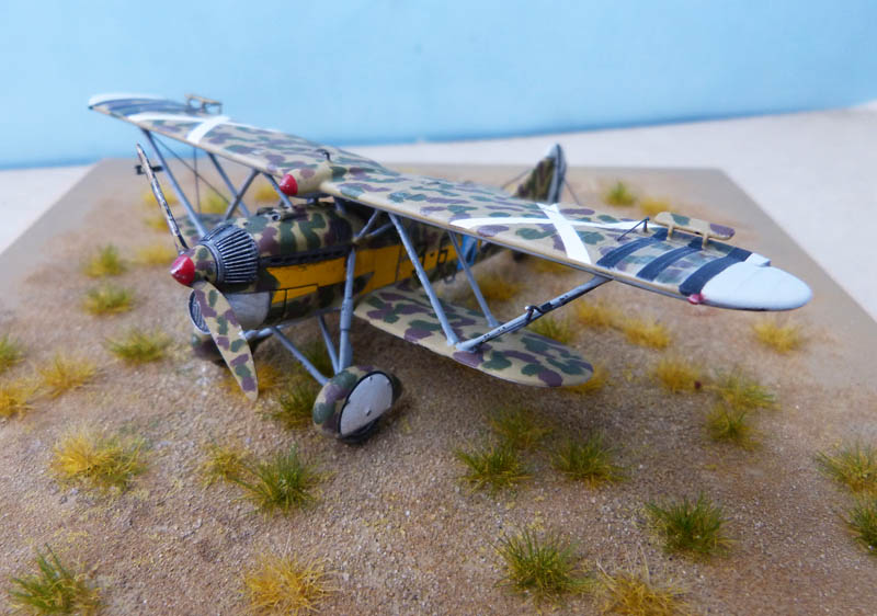 Fiat CR 32 de l'Aviation Légionnaire - Italeri (Upgrade ex Supermodel) 657331CR3268