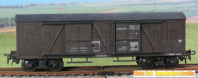 Wagons à bogies série plastique (citerne, tombereaux, couverts)  657608VBcouvertbogiesplastiqueSNCFIMG3454