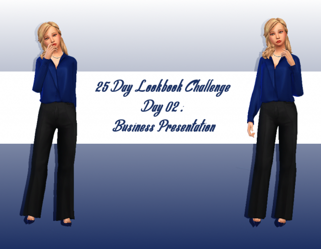[Look] 25 Day Lookbook Challenge  657689Jour2