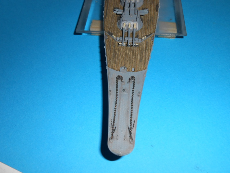 Yamato 1/700 fuji, PE,Pont en bois et babioles - Page 3 658039DSCN6127