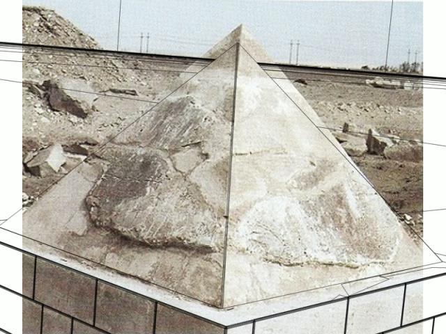La révélation des pyramides - Page 28 658217vuephoto7Pyramide100cmDessin